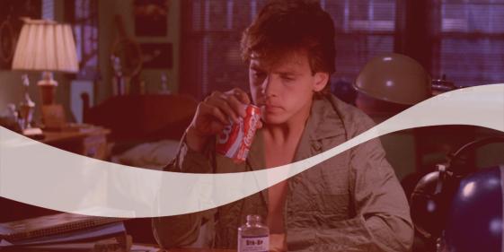 lights, camera, coca-cola: Freddy's Revenge (1985)
